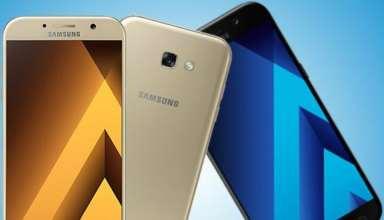 Samsung Galaxy A5 (2018) and A7(2018)