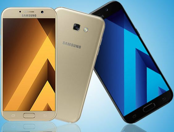 Samsung Galaxy A5 (2018) and A7(2018)