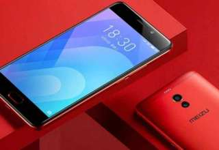 Meizu M6 Note Flaming Red