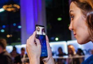Samsung Galaxy S9 iris scanner