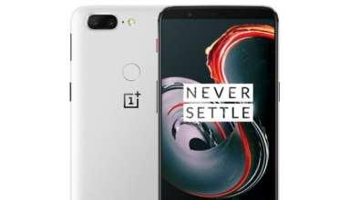 OnePlus 5T sandstone white edition