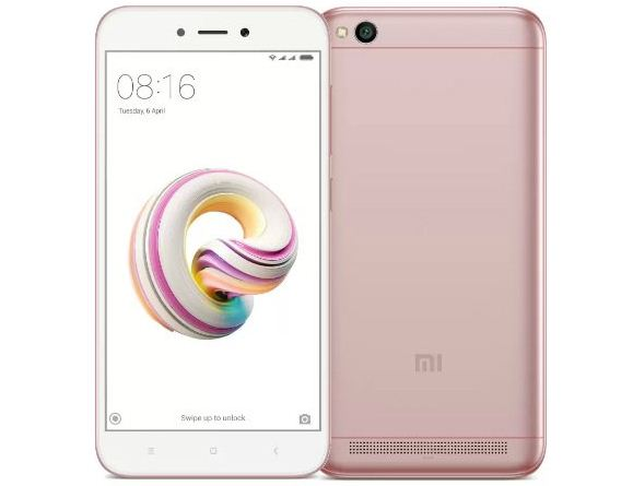 Xiaomi Redmi 5A Rose Gold Variant Goes On Sale Today