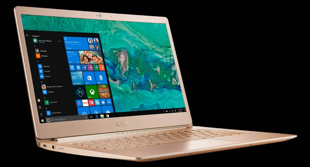 Acer Swift 5 Laptop with Windows Hello Fingerprint Sensor Launched in India