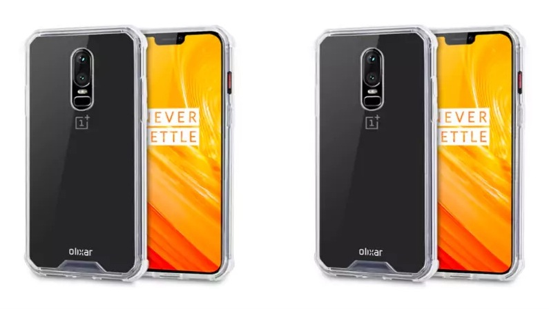 Case designs give us a full view of the OnePlus 6