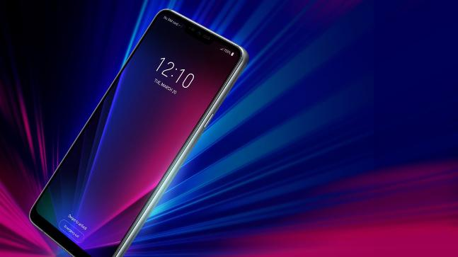 LG G7 ThinQ shown off in clear press image