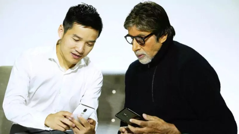 OnePlus 6 twitter leak featuring Amitabh Bachchan shows two colour variants