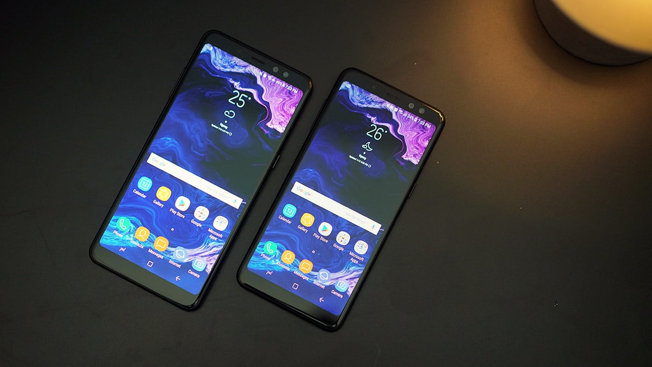 Samsung Galaxy A8 (2018) and A8+ (2018)