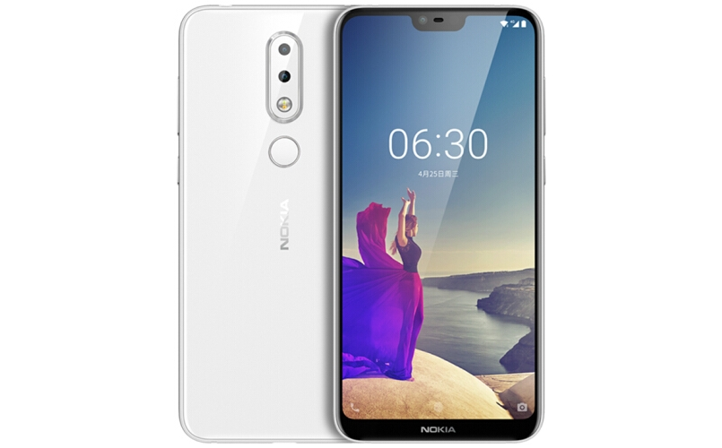 Nokia X6 polar white variant launched